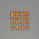 thumb image of 3.9ct Marquise Facet Yellow Orange Sapphire (ID: 401497)