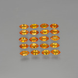 thumb image of 4ct Marquise Facet Yellow Orange Sapphire (ID: 401499)