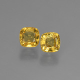 thumb image of 0.5ct Cushion-Cut Golden Sapphire (ID: 405998)