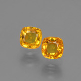 thumb image of 1.3ct Cushion-Cut Yellow Golden Sapphire (ID: 406087)