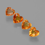thumb image of 1.9ct Heart Facet Yellow Golden Sapphire (ID: 406320)