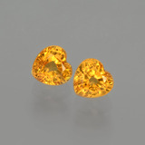 thumb image of 1ct Heart Facet Yellow Golden Sapphire (ID: 406523)
