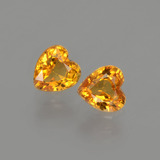 thumb image of 1ct Heart Facet Yellow Golden Sapphire (ID: 406525)