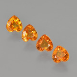 thumb image of 1.9ct Heart Facet Yellow Golden Sapphire (ID: 406536)