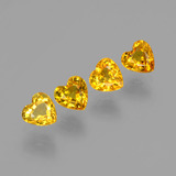 thumb image of 1.7ct Heart Facet Yellow Golden Sapphire (ID: 406564)
