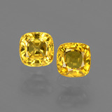 thumb image of 1.1ct Cushion-Cut Yellow Golden Sapphire (ID: 406680)