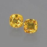 thumb image of 1.1ct Cushion-Cut Yellow Golden Sapphire (ID: 406880)