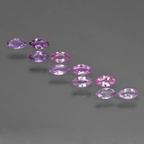 thumb image of 1.1ct Marquise Facet Purple Pink Sapphire (ID: 411175)