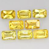 thumb image of 3ct Octagon / Scissor Cut Yellow Golden Sapphire (ID: 412519)