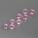 thumb image of 1.5ct Pear Facet Pink Sapphire (ID: 413744)