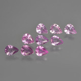 thumb image of 2.5ct Pear Facet Purple Pink Sapphire (ID: 413750)