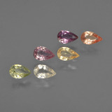 thumb image of 1.4ct Pear Facet Multicolor Sapphire (ID: 414361)