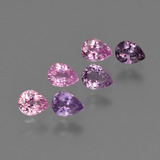 thumb image of 1.4ct Pear Facet Purple Pink Sapphire (ID: 414526)