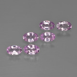 thumb image of 1.7ct Oval Facet Purple Pink Sapphire (ID: 414641)