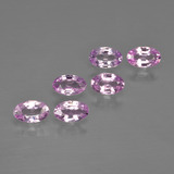 thumb image of 1.5ct Oval Facet Purple Pink Sapphire (ID: 414643)