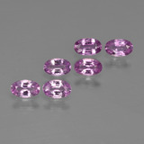 thumb image of 1.6ct Oval Facet Purple Pink Sapphire (ID: 414644)