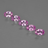 thumb image of 1.3ct Oval Facet Purple Pink Sapphire (ID: 414954)