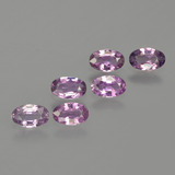 thumb image of 1.5ct Oval Facet Purple Pink Sapphire (ID: 415277)