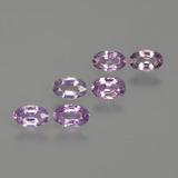thumb image of 1.5ct Oval Facet Purple Pink Sapphire (ID: 415279)