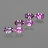thumb image of 1.7ct Oval Facet Purple Pink Sapphire (ID: 415475)