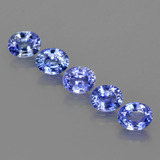 thumb image of 2.2ct Oval Facet Blue Sapphire (ID: 420150)