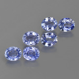 thumb image of 2.8ct Oval Facet Blue Sapphire (ID: 420156)