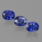 thumb image of 2.4ct Oval Facet Blue Sapphire (ID: 420659)