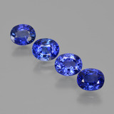 thumb image of 3.4ct Oval Facet Blue Sapphire (ID: 420667)