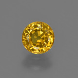 thumb image of 0.8ct Round Facet Golden Yellow Sapphire (ID: 421048)