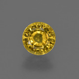 thumb image of 0.9ct Round Facet Golden Yellow Sapphire (ID: 421051)