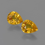 thumb image of 1.2ct Pear Facet Yellow Golden Sapphire (ID: 421684)