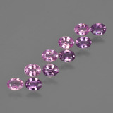 thumb image of 2.1ct Oval Facet Purple Pink Sapphire (ID: 421714)