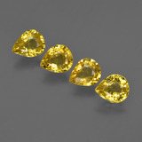 thumb image of 2.4ct Pear Facet Yellow Golden Sapphire (ID: 421827)