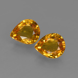 thumb image of 1.3ct Pear Facet Yellow Golden Sapphire (ID: 421843)