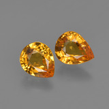thumb image of 1.2ct Pear Facet Yellow Golden Sapphire (ID: 421844)