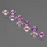 thumb image of 2.1ct Oval Facet Purple Pink Sapphire (ID: 421913)