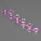 thumb image of 0.2ct Oval Facet Purple Pink Sapphire (ID: 421916)