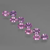 thumb image of 2.8ct Oval Facet Purple Pink Sapphire (ID: 421921)
