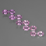 thumb image of 0.2ct Oval Facet Purple Pink Sapphire (ID: 421982)