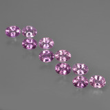 thumb image of 2.4ct Oval Facet Purple Pink Sapphire (ID: 421985)