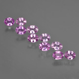 thumb image of 0.3ct Oval Facet Purple Pink Sapphire (ID: 422050)