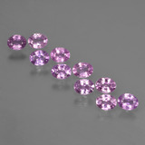 thumb image of 0.2ct Oval Facet Purple Pink Sapphire (ID: 422057)