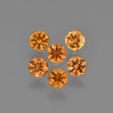 thumb image of 1.2ct Diamond-Cut Yellow Orange Sapphire (ID: 422765)