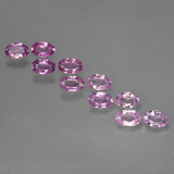 thumb image of 2.8ct Oval Facet Purple Pink Sapphire (ID: 423443)