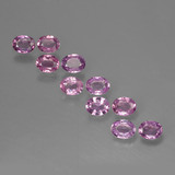 thumb image of 2.1ct Oval Facet Purple Pink Sapphire (ID: 423445)