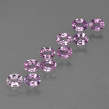 thumb image of 2.4ct Oval Facet Purple Pink Sapphire (ID: 423587)