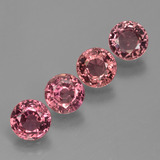 thumb image of 3.4ct Round Facet Rose Pink Sapphire (ID: 423627)