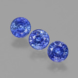 thumb image of 1.2ct Round Facet Blue Sapphire (ID: 424481)