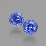 thumb image of 0.8ct Round Facet Blue Sapphire (ID: 424487)