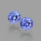 thumb image of 0.8ct Round Facet Blue Sapphire (ID: 424489)
